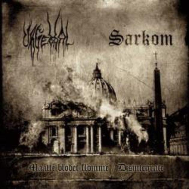 Urgehal / Sarkom - Maatte Blodet Flomme / Disintergrate Split