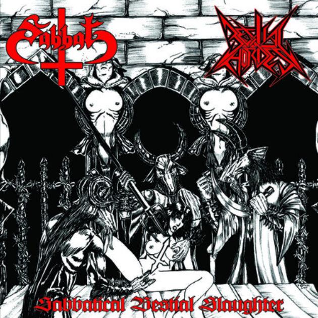 Sabbat/Bestial Hordes - Sabbatical Bestial Slaughter