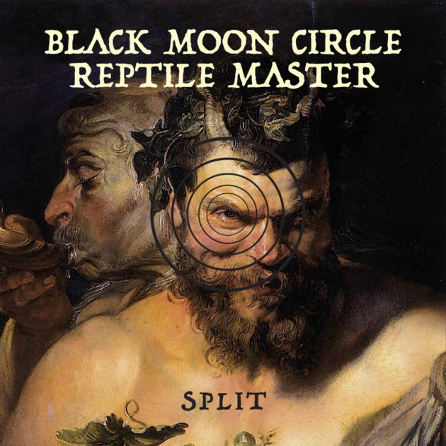 Reptile Master  / Black Moon Circle - Split