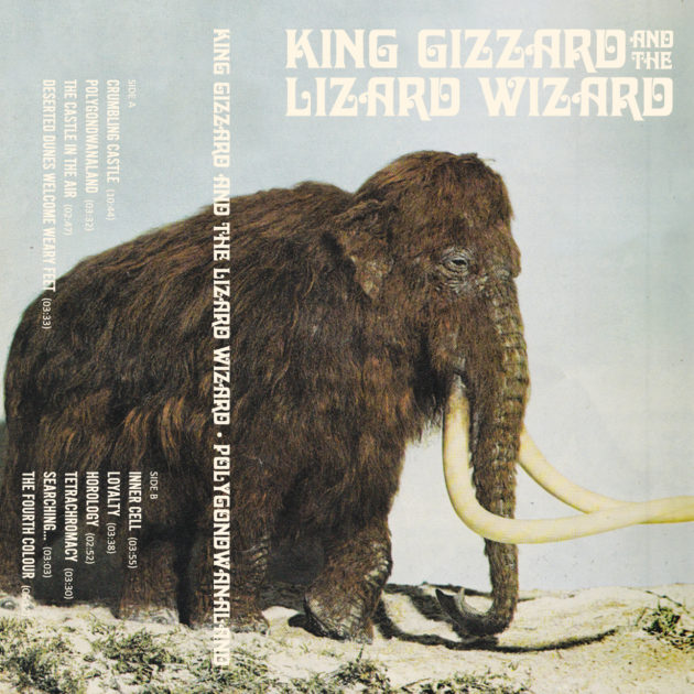 King Gizzard And The Lizard Wizard - Polygondwanaland LTD Bone White Fuzz Club Version