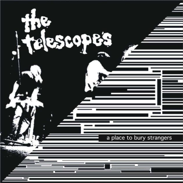 A Place To Bury Strangers / The Telescopes - Split Single