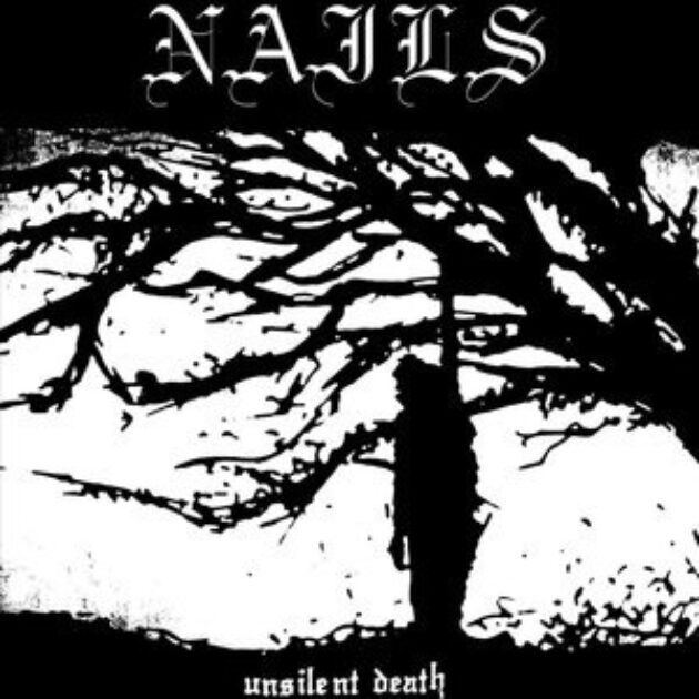 Nails - Unsilent Death 10th anniversary aka UDX LTD Orange Vinyl