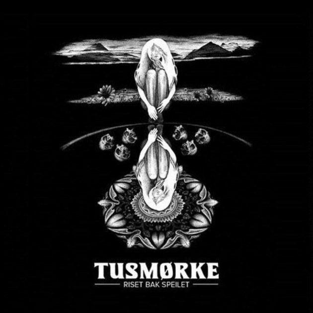 Tusmørke - Riset Bak Speilet - Black Vinyl