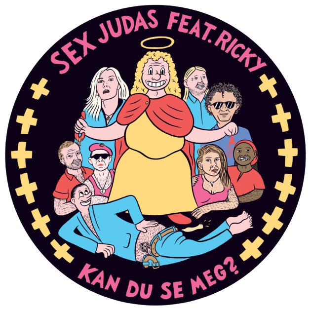 Sex Judas feat. Ricky - Kan du se meg?
